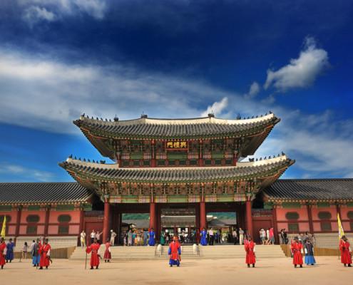 Gyeongbok-Palacew-